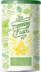 Morning Fuel | Vegan eiwitrijke Ontbijtshake met veel voedingsstoffen | Vanille Matcha | Eiwit van gekiemde erwten, quinoa, chia, MCT-olie, haver, algen, alfalfa, spinazie, maca | Vitamine B6 + B12 | 600g