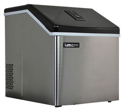 NewAir - Luma Comfort 28-lb Clear Ice Maker - Stainless Steel - Stainless steel