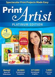 Nova - Print Artist Platinum Edition Version 25 - Windows
