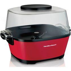 Hamilton Beach - 24-Cup Hot Oil Popcorn Popper - Red
