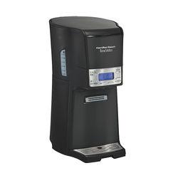Hamilton Beach - BrewStation 12 Cup Digital Dispensing Coffee Maker - Black