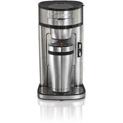 Hamilton Beach - Single Serve Coffee Maker - Stainless