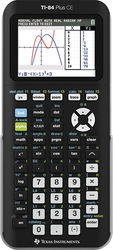 Texas Instruments - TI-84+ CE Graphing Calculator - Black