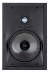 """Sonance - Visual Performance 6-1/2"""" Passive 2-Way In-Wall Speaker (Each) - Paintable White"""