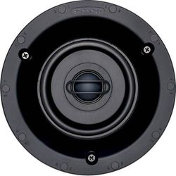 "Sonance - Visual Performance 4-1/2"" 2-Way In-Ceiling Speakers (Pair) - Paintable White"