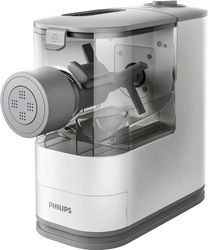 Philips Compact Pasta and Noodle Maker, HR2370/05- White - White