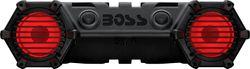 BOSS Audio - ATV/UTV Sound System - Bluetooth - Multi-Color Illumination - Weather-Proof Marine Grade - Black