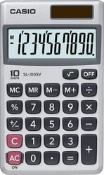 Casio - Portable Calculator - Silver