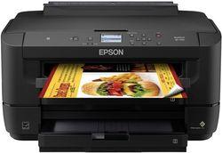 Epson - WorkForce WF-7210 Wireless All-In-One Inkjet Printer - Black