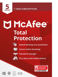 McAfee - Total Protection (5 Device) (1-Year Subscription)