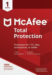 McAfee - Total Protection (1 Device) (1-Year Subscription)