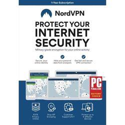 Avanquest - NordVPN (1-Year Subscription) - Blue, White