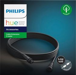 Philips - Outdoor Low Voltage Cable Extension - Black