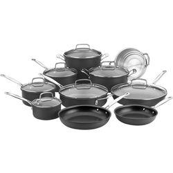 Cuisinart - Chef's Classic 17-Piece Cookware Set - Black