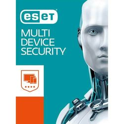 ESET - Multi-Device Security 5-Device 1-Year Subscription - Android, Linux, Mac, Windows