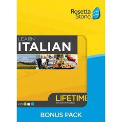 Rosetta Stone - Italian Bonus Pack (Lifetime Subscription) - Android, Mac, Windows, iOS