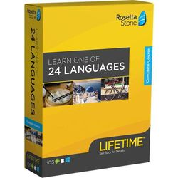 Rosetta Stone - Learn UNLIMITED Languages with Lifetime access - Learn 24+ Languages - Android, Mac, Windows, iOS