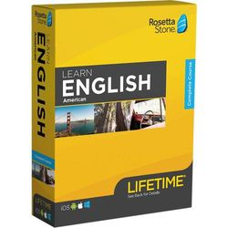 Rosetta Stone - Learn UNLIMITED Languages with Lifetime access - English American - Android, Mac, Windows, iOS