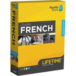 Rosetta Stone - Learn UNLIMITED Languages with Lifetime access - French - Android, Mac, Windows, iOS