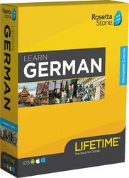Rosetta Stone - Learn UNLIMITED Languages with Lifetime access - German - Android, Mac, Windows, iOS