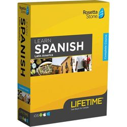 Rosetta Stone - Learn UNLIMITED Languages with Lifetime access - Latin American Spanish - Android, Mac, Windows, iOS