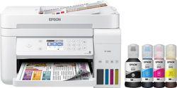 Epson - EcoTank ET-3760 Wireless All-In-One Inkjet Printer - White