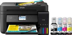 Epson - EcoTank ET-4760 Wireless All-In-One Printer - Black