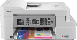 Brother - INKvestment Tank MFC-J805DW Wireless All-In-One Inkjet Printer - White