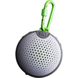 Boompods - Aquablaster Smart Portable Bluetooth Speaker with Alexa - Gray/Green