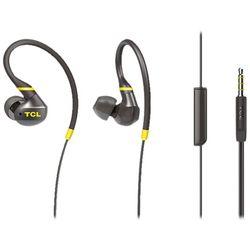 TCL - ACTV100BK Wired In-Ear Headphones - Monza Black