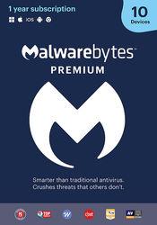 Malwarebytes - 4.0 Premium (10-Devices) - Android, Mac, Windows