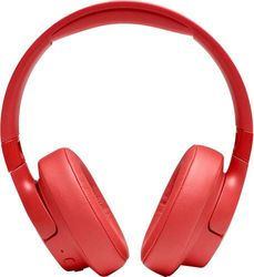 JBL - TUNE 750BTNC Wireless Noise-Cancelling Over-the-Ear Headphones - Coral