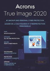 Acronis - True Image 2020 Standard (5 PCs/Macs) - Mac, Windows
