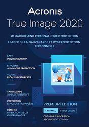 Acronis - True Image 2020 Premium (1-Year Subscription) - Mac, Windows