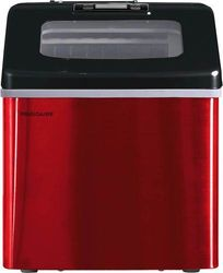 """Frigidaire - 11.3"""" 40-Lb. Freestanding Icemaker - Red Stainless Steel"""