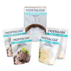 Nostalgia - ICK5 4 Packet Ice Cream Starter Kit - White