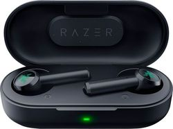 Razer - Hammerhead True Wireless Bluetooth Earbuds: Low-Latency - Water Resistant - Bluetooth 5.0 Auto Pairing - Black