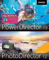 Cyberlink - PowerDirector 19 Ultra + PhotoDirector 12 Ultra - Windows