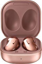 Samsung - Geek Squad Certified Refurbished Galaxy Buds Live True Wireless Earbud Headphones - Bronze