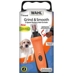 Wahl - Grind and Smooth Pet Nail Grinder - Orange