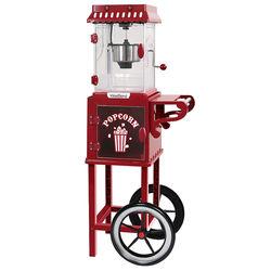 WestBend - 2.5-Ounce Popcorn Cart Popcorn Popper Machine - Red