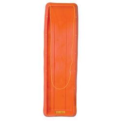 "ESP 66"" Family Fun Toboggan - Four Rider Snow Sled - Orange - Orange"