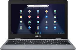"ASUS - 11.6"" Chromebook - Intel Celeron - 4GB Memory - 32GB eMMC Flash Memory - Gray - Grey"