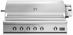 """DCS by Fisher & Paykel - Traditional 48"""" Built-In Gas Grill - Brushed Stainless Steel"""