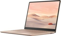 """Microsoft - Geek Squad Certified Refurbished Surface Laptop Go 12.4"""" Touch-Screen Laptop - Intel Core i5 - 8GB Memory - 128GB SSD - Sandstone"""