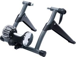 Sportneer - Indoor Fluid Bicycle Trainer Stand - Black and Gray