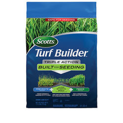 Scotts Turf Builder Triple Action Built For Seeding 17.2 lbs. - Tan