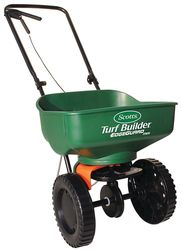 Scotts Turf Builder EdgeGuard Mini Broadcast Spreader - Green