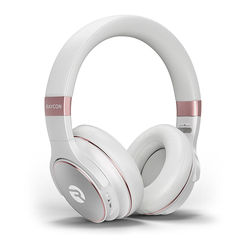 Raycon - H20 Wireless Noise-Cancelling Over-the-Ear Headphones - Rose