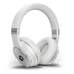 Raycon - H20 Wireless Noise-Cancelling Over-the-Ear Headphones - White